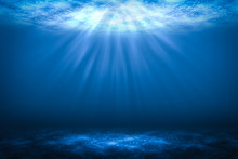 Sunbeam Abstract Underwater Ba...