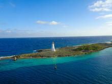 Nice View To An Island With Li...
