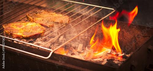 Papiers peints Steakhouse Hot steak