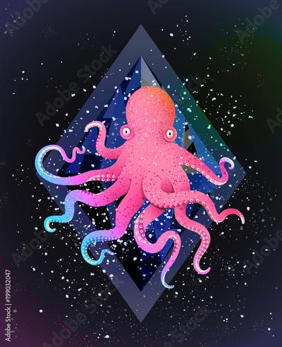 zwierze-morskie-na-tle-czarnego-kosmosu