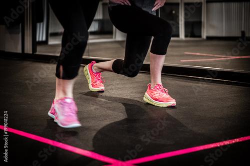 Fotografija  women's exercise class