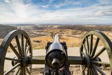 Canon On The Gettysburg Battle...