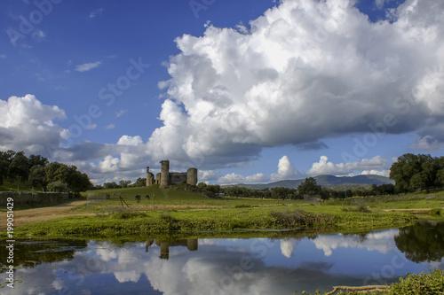 Castillo de las Torres de Monesterio en la provincia de Badajoz