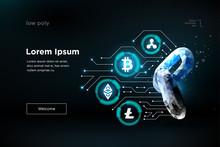 Chain. Blockchain Technology.