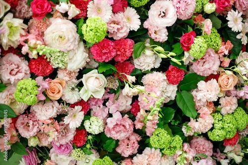 Poster Fleuriste たくさんの花