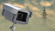 Security camera and radio towers