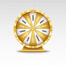 Realistic 3d Spin Golden Fortu...