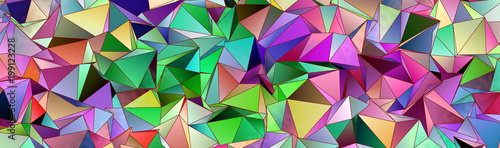 Fototapety, obrazy: Abstract background 3d
