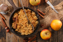 Apple Crumble And Cinnamon