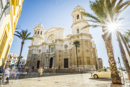 Cathedral of Cadiz built between 1722 and 1838, Andalusia, Spain