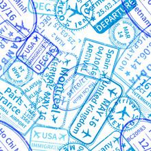 Blue International Travel Visa...