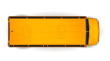 Top View Of Bright Yellow Real...
