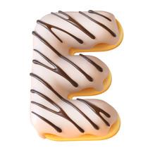 Glazed Donut Font 3d Rendering...