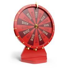 3d Illustration Red Wheel Of L...