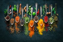 Herbs And Spices For Cooking O...