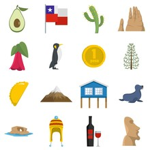 Cjile Travel Icons Set Vector ...