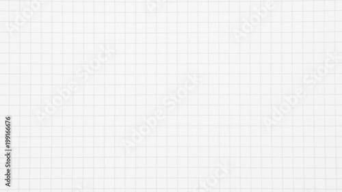 Fotografiet white grid paper background