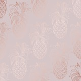 Rose gold. Vector decorative pattern for design and decoration - 199184247