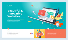 Effective Website Template Des...