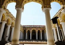 Indian Architecture Thirumalai Nayakkar Mahal Palace In Madurai