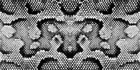 Ispis zmijske teksture crno bijela