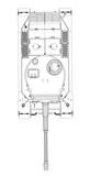 Fototapeta Sport - Blueprint of realistic tank