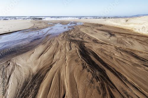 Photo Lineas en la playa