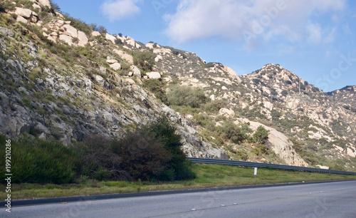 Fotobehang Grijs Roadtrip California to Arizona