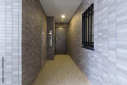 Fotografie, Obraz  マンションのアルコーブ付き玄関