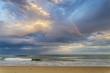 Mini rainbow at the beach