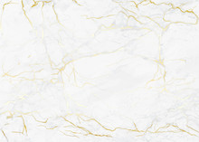 Marble With Golden Texture Background Vector Illustration For Modern Design Template Wedding Or Invitation, Web, Banner, Card, Pattern And Wallpaper.