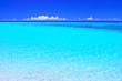 canvas print picture 真夏の宮古島・下地空港沿いに広がる綺麗な海