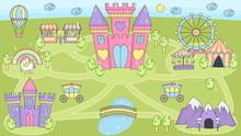 Princess Castle Play Mat Activ...