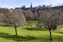 Princes Street Garden In Edinb...