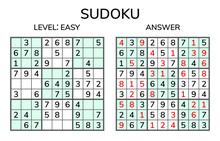 Sudoku. Kids And Adult Mathema...