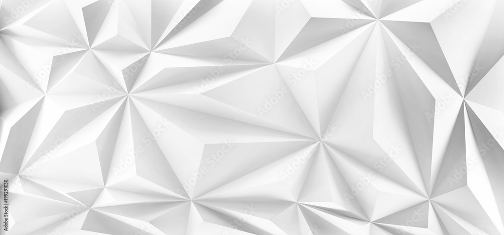 Wall of triangles