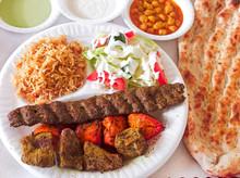 Afghan Food Platter