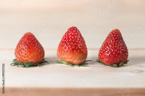 Photo Strawberry fruit