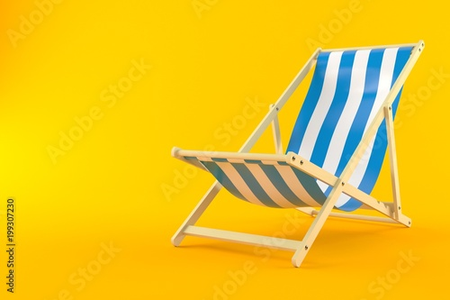 Deck chair Fotobehang