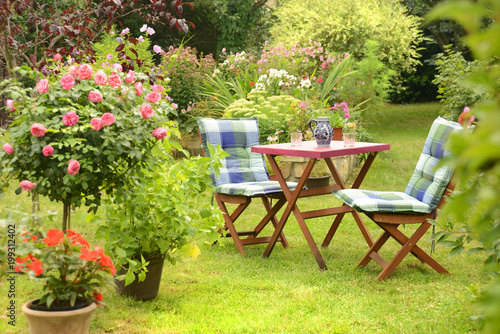 Foto op Canvas Tuin Garten 803