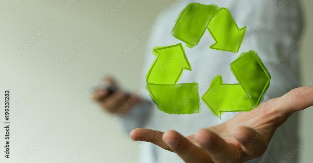 Fototapeta recycling