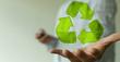 Leinwandbild Motiv recycling