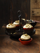 Frosted Cupcakes With Pumpkin ...