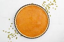 Pumpkin Pie, Tart. Grey Stone ...