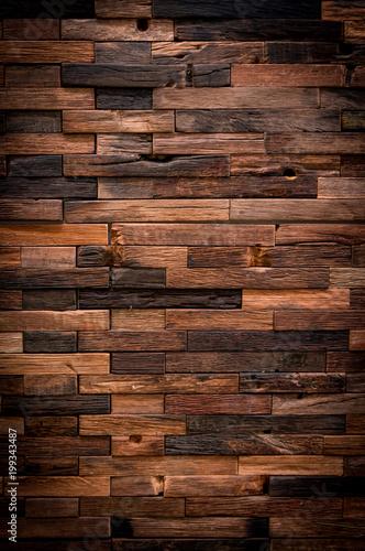 Papiers peints Bois Old Grunge Vintage Wood Panels Background