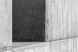 Abstract gray concrete architecture photo