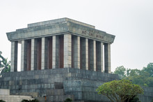 Vietnam, Ho Shi Min Mausoleum In Hanoi City