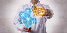 Pharmacist Presenting Specialty Drugs Online