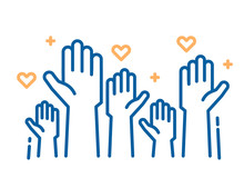 Volunteers And Charity Work. R...