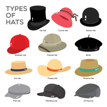 TYPES OF HAT